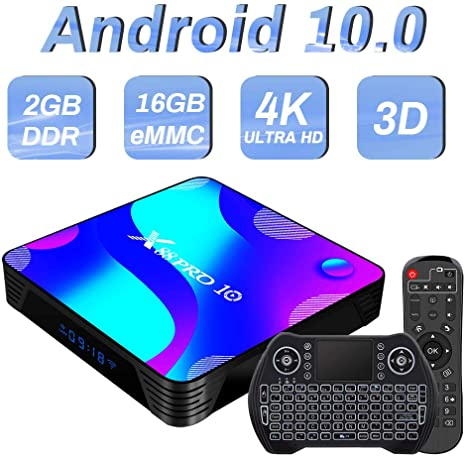 3. Android TV Box 10, Rk3318 2GB 16GB