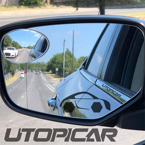 4. New Blind Spot Mirrors. Can be installed Adjustable or Fixed. Car Mirror for blind side / Door mirrors