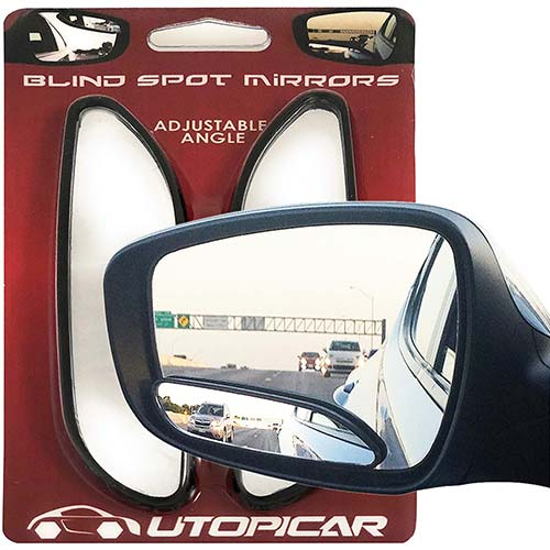 6. Utopicar Blind Spot Mirrors – Updated Design - Car Mirror for Blind Side - Door Mirrors