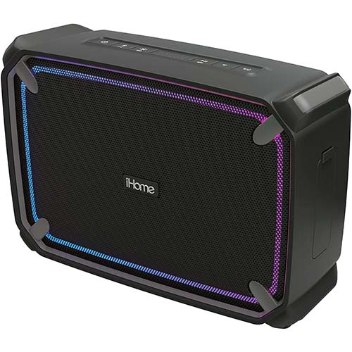 4. iHome iBT374 Weather Tough Portable Rechargeable Bluetooth Speaker