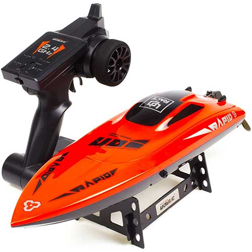 2. Cheerwing RC Racing Boat Large Brushless Remote Control Boat 30mph High Speed