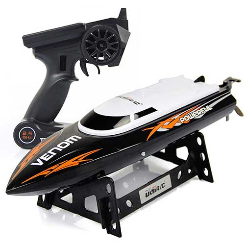 9. Cheerwing RC Racing Boat for Adults - High Speed Electronic Remote Control Boat for Kids