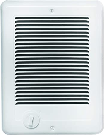 7. Cadet Com-Pak Electric Wall Heater with Thermostat (Model: CSC152TW), 240V, 1500W, White