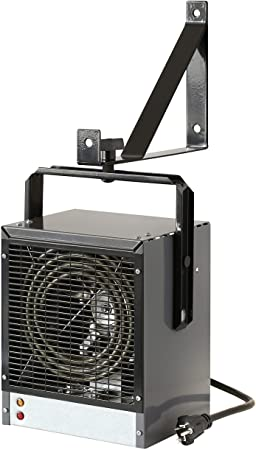 6. DIMPLEX DGWH4031G Garage and Shop Large 4000 Watt Forced Air, Industrial, Space Heater in, Gray/Black Finish