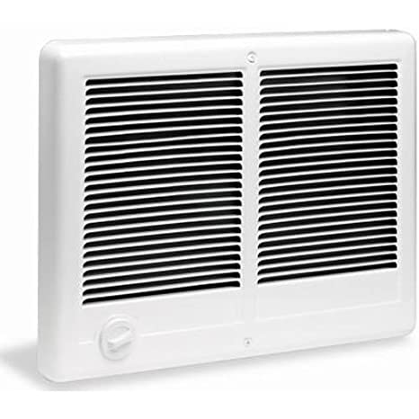 2. Cadet Manufacturing 67527 240-Volt White Com Pak Twin Double Fan Forced Electric Wall Heater, 4000-Watt