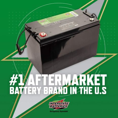 1. Interstate Batteries 12V 110 AH SLA/AGM Deep Cycle Battery for Solar, Wind, and RV Applications - Insert Terminals