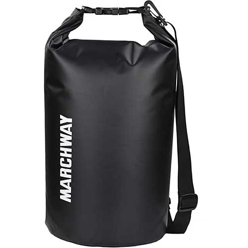 1. MARCHWAY Floating Waterproof Dry Bag 5L/10L/20L/30L/40L, Roll Top Sack