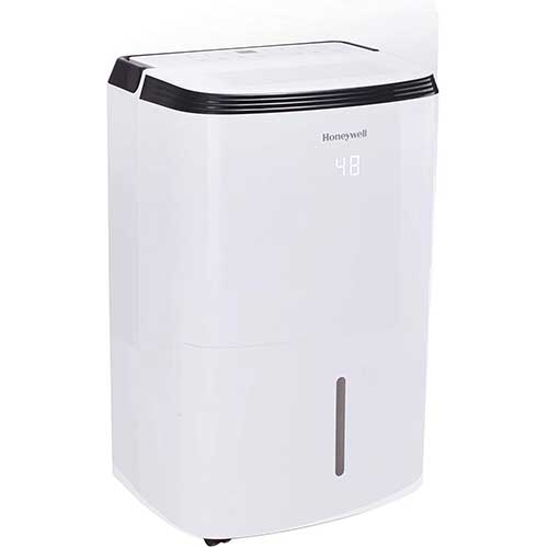 2. Honeywell Large SqFt Design & Filter Change Alert, TP70WKN, White TP70WK 70 Pint Energy Star Dehumidifier