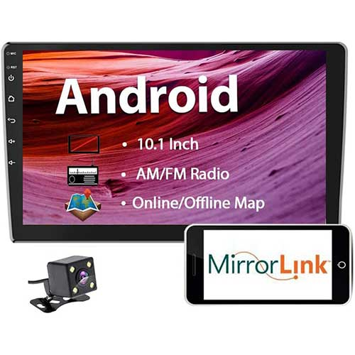 Top 10 Best Double Din Android Head Units in 2020 Reviews