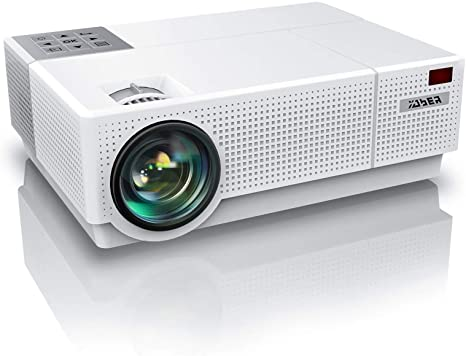 4. YABER Y31 Native 1920x 1080P Projector 7200 Lux Upgrade Full HD Video Projector