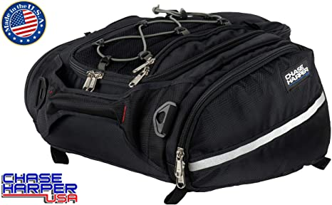 1. Chase Harper USA 4502 RipStream Tail Trunk - Water-Resistant, Tear-Resistant, Industrial Grade Ballistic Nylon