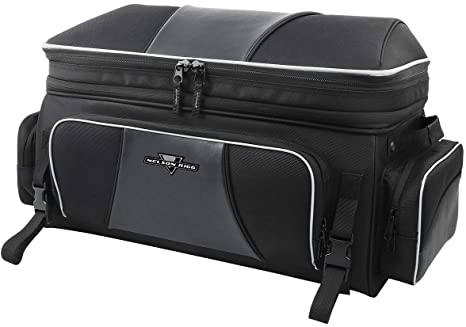 3. Nelson Rigg NR-300 Route 1 Traveler Tour Trunk Bag, Black Harley Davidson Ultra, Indian Roadmaster, Honda Gold Wing