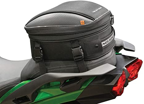 8. Nelson-Rigg CL-1060-R Black Commuter Lite Motorcycle Tail/Seat Bag