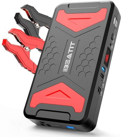 2. BEATIT QDSP 2200Amp Peak 12V car Jump Starter (Up to 10.0L Gas and 10.0LDiesel Engine) 21,000mAh power bank