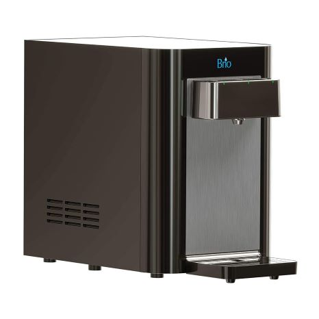 6. Brio Countertop Self Cleaning Bottleless Water Cooler Water Dispenser - 2 Stage Water Filter Included
