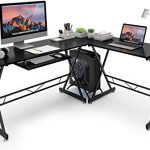 Top 9 Best L-Shaped Desks With Bookshelf In 2021 Reviews