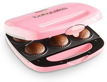 4. Babycakes Nonstick Coated Mini Cupcake Maker : Pink