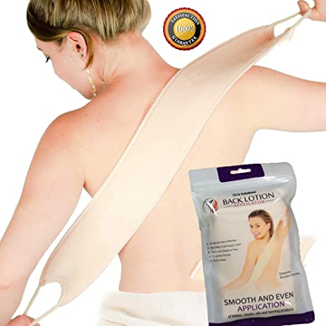 4. Slick- Lotion Applicator for Your Back - Easy Application of Lotions and Creams - Smooth and Even Application