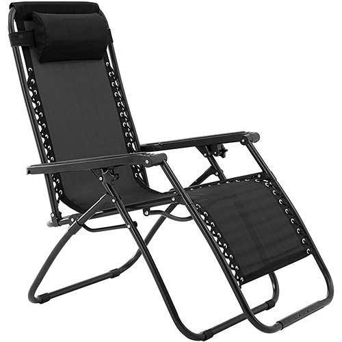 1. Zero Gravity Chair-Black