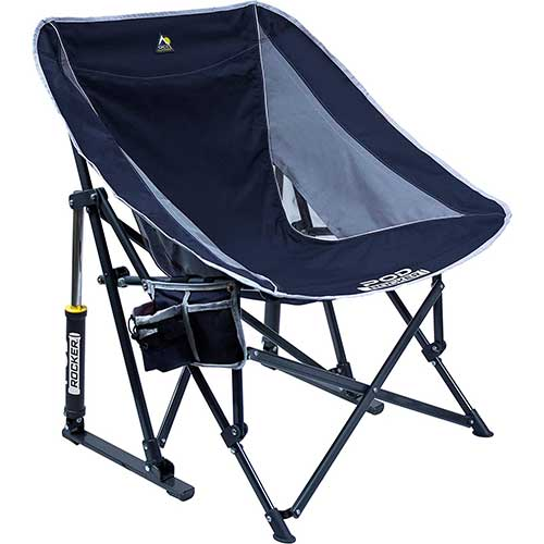 4. GCI Outdoor Pod Rocker Collapsible Rocking Chair
