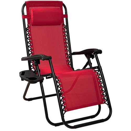 6. BalanceFrom Adjustable Zero Gravity Lounge Chair Recliners for Patio