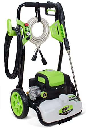 2. Titans 4500PSI 3.5GPM Electric Power Washer,Electric Pressure Washer with 4 Quick-Connect Spray Tips and Wand
