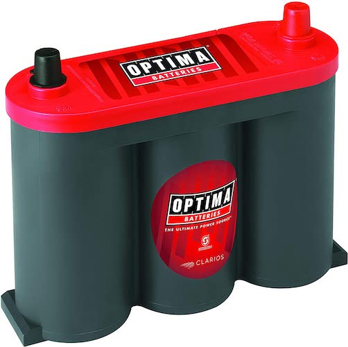 2.Optima Batteries OPT8010-044 6V RedTop Starting Battery