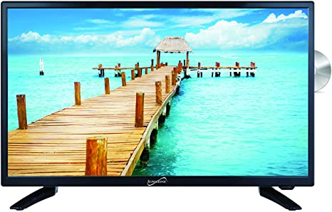 8. SuperSonic SC-2412 LED Widescreen HDTV & Monitor 24