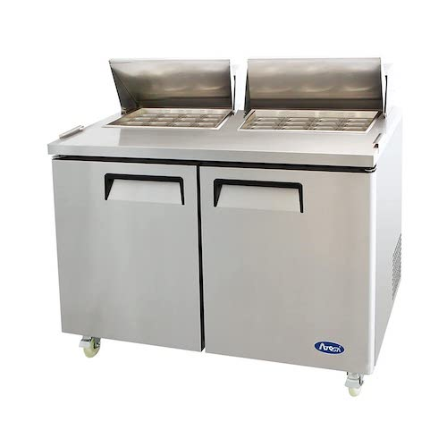 1. Atosa MSF8307 Stainless Steel Mega Top Sandwich Prep Table 60