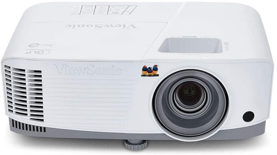 1.ViewSonic 3800 Lumens SVGA High Brightness Projector for Home and Office