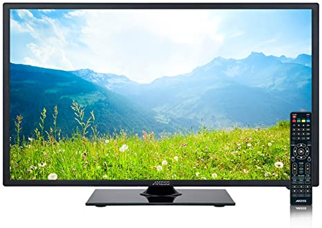 5. AXESS TV1705-24 24-Inch LED 760p HDTV, Features 1xHDMI/Headphone, RGB and Component Inputs with Full Function Remote