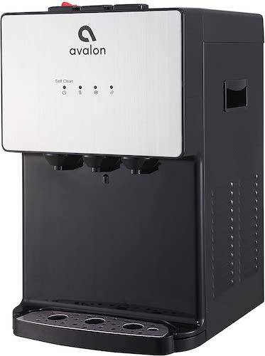 3. Avalon A12 Countertop Bottleless Water Dispenser, 3 Temperatures, Self Cleaning, Stainless Steel