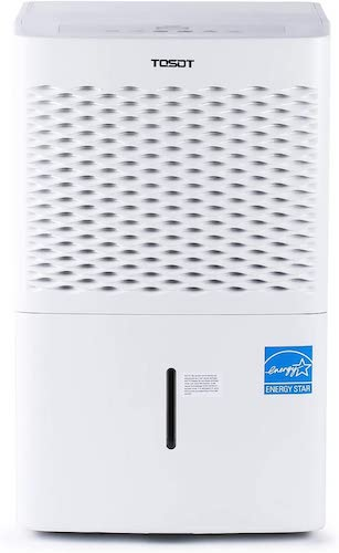 2.TOSOT 50 Pint with Internal Pump 4,500 Sq Ft Dehumidifier Energy Star - for Home, Basement, Bedroom or Bathroom