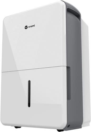 4.Vremi 50 Pint 4,500 Sq. Ft. Dehumidifier Energy Star Rated for Large Spaces and Basements