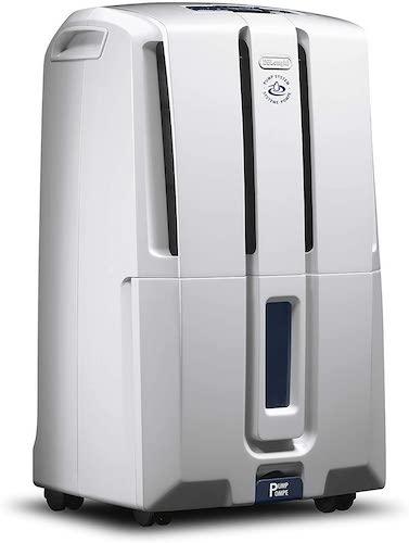 10.De'Longhi 45 Pint Dehumidifier 24-Hour On/Off Timer, Energy Star 2.0, DDX45E