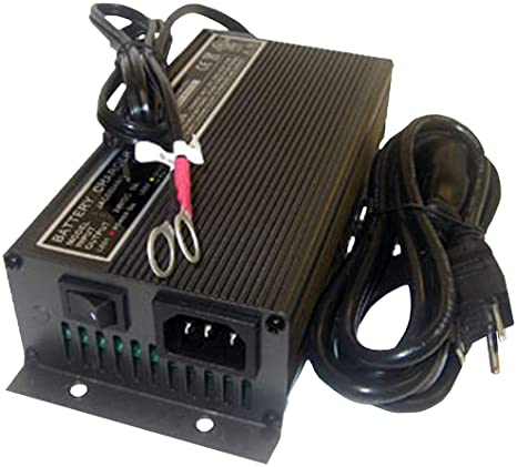 9. JAC0348-R 48V, 3A Schauer Battery Charger/Maintainer for 48 Volt Systems up to 40 Amp Hour Battery Capacity, with Ring Terminals