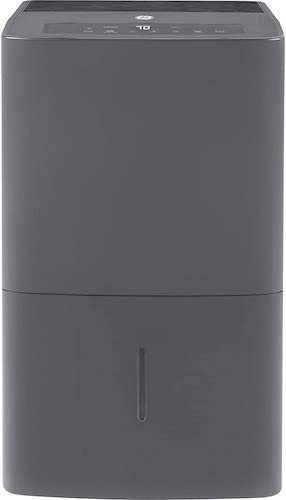 6.GE 20 Pint Dehumidifier for Damp Rooms, Bedroom and Closet, 50 Pump, Grey