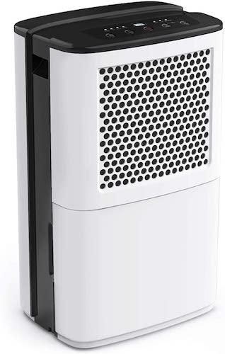 5.AIRPLUS 50 Pints Dehumidifier, High-Efficiency Dehumidifiers for Basements
