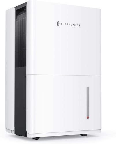 1.TaoTronics Dehumidifier with Pump 50 Pint for 4500 Sq. Ft, Energy Star Dehumidifier for Basement