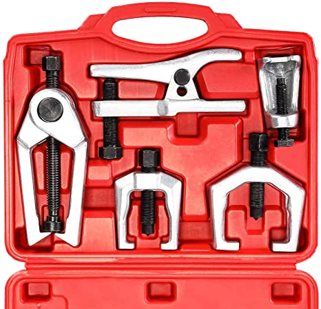 1. Orion Motor Tech 5-in-1 Ball Joint Separator, Pitman Arm Puller, Tie Rod End Tool Set