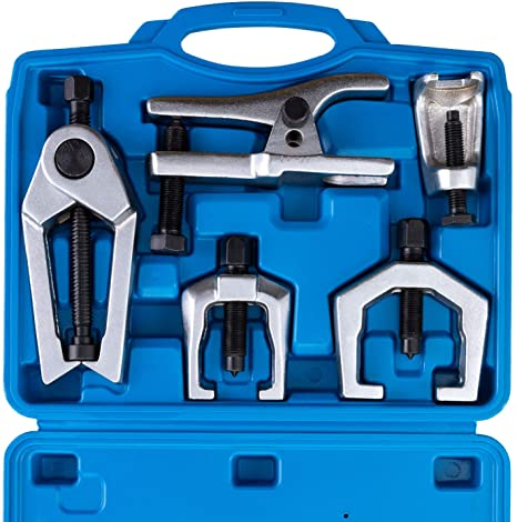 2. Orion Motor Tech 5pc Ball Joint Separator, Pitman Arm Puller, Tie Rod End Tool Set