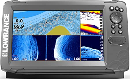 4. Lowrance HOOK2 Fish Finder/Depth Finder with TripleShot Transducer and Preloaded Mapping (Certified Refurbished)