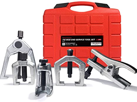 7. Thorstone Tie Rod End Puller-Remover Tool,5pcs Ball Joint Removal -Separator,Pitman Arm Puller