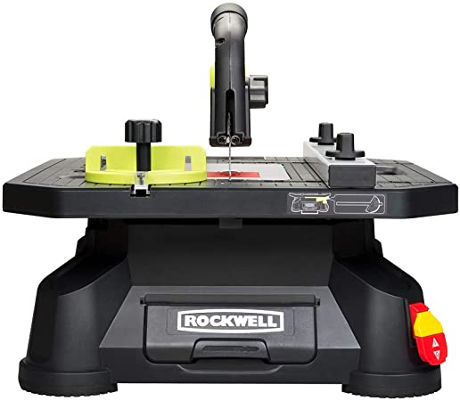 5. Rockwell BladeRunner X2 Portable Tabletop Saw with Steel Rip Fence, Miter Gauge, and 7 Accessories – RK7323