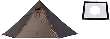 5. OneTigris Iron Wall Stove Tent with Inner Mesh + Stove Jack