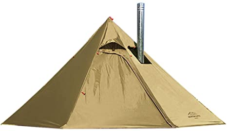 2. 2 Persons Lightweight 3.4lb Tipi Hot Tents with Stove Jack for Hunting Family Team Backpacking Camping Hiking
