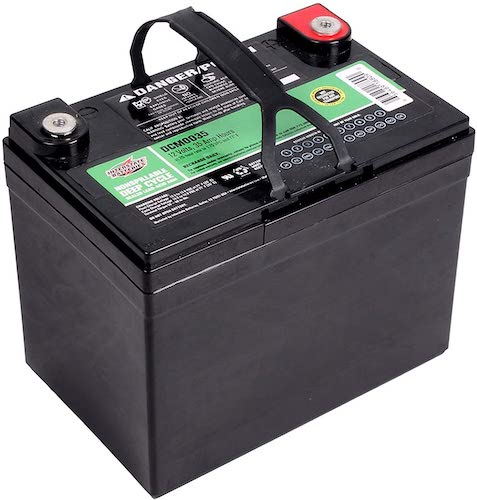 2.Interstate Batteries 12V 35Ah Deep Cycle Battery (DCM0035) Sealed Lead Acid SLA AGM Rechargeable Battery